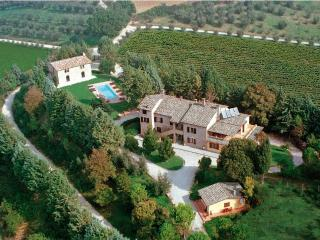 Luxury Villa with marvellous view on 2 valleys - Perugia, Italy - Gualdo Tadino vacation rentals