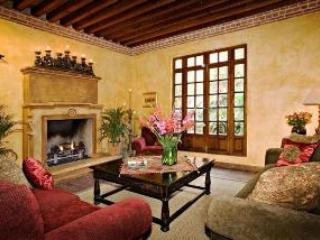 Living room with fireplace - Casa el Quijote - Outstanding Home/Colonial Feel - San Miguel de Allende - rentals