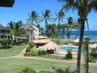 This pic is your Stunning Oceanview from condo! Top floor! - Kapaa vacation rentals