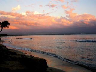 Beautiful Maui condo ON the beach:  2 BR/2BA AC - Maalaea vacation rentals