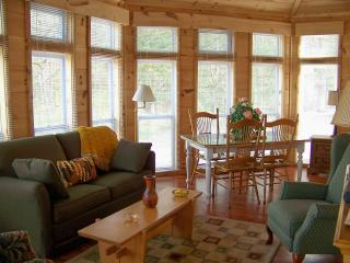 "A ""do-it-yourself"" B & B and large cabin/50 acres - Townsend vacation rentals"