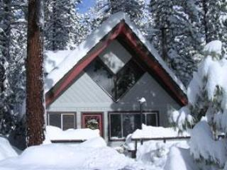 In Winter - Cozy Mountain Chalet with Private Hot Tub - Incline Village - rentals