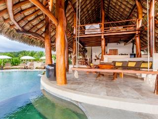 Enjoy a rock free ocean swim at Villa Milagro! - Troncones vacation rentals
