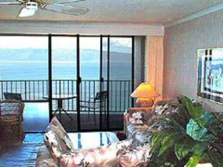 Fabulous oceanfront penthouse with free wifi - Lanai City vacation rentals