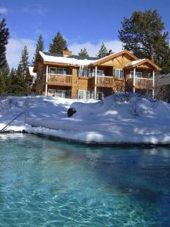 Right on lake with fireplaces, outdoor hot tubs - Tahoe Vista vacation rentals
