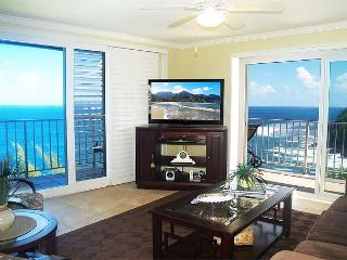 Alii Kai 4301: Gorgeous oceanfront top floor corner!  Beautiful inside. - Haena vacation rentals