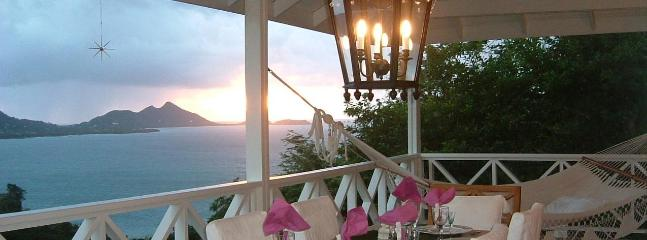 dining at vanilla hill - Vanilla Hill -  Carriacou - soothe your senses ! - Carriacou - rentals