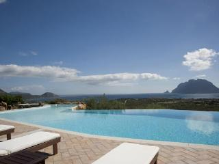 Take in the view from the huge pool! 15 minutes from Olbia airport. HII VOP - Sardinia vacation rentals