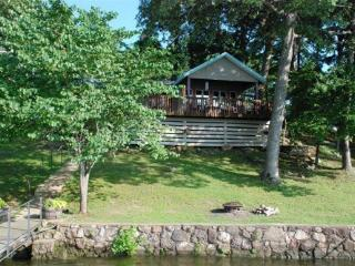 Sunset Cottage - One Story Home, Sloping Lot and Spacious Lake Views. 34MM Osage Arm (Harts Hollow) - Lake of the Ozarks vacation rentals