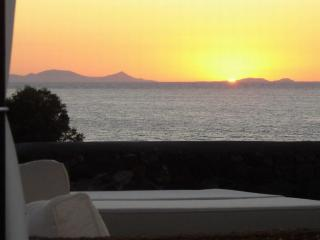 Villa on a private beach near Oia,  2 -8 persons - Oia vacation rentals