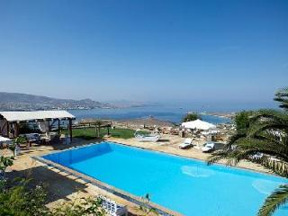 Elegant Villa Althea 2 on estate with serene sea views, chic terrace & pool - Antiparos Town vacation rentals