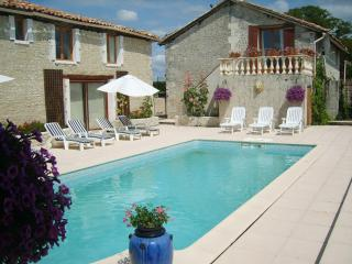 Farmhouse and Barn,2 pools,jacuzzi,sauna 22 pers(website: hidden) - Aubeterre-sur-Dronne vacation rentals