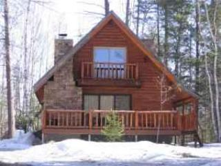 Cabin upon approach from road - Hot Tub Under the Stars - Johnsburg - rentals