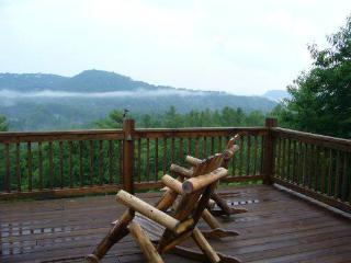 Mtn Views from 2 layers of decks, Walk to town - Glenville vacation rentals