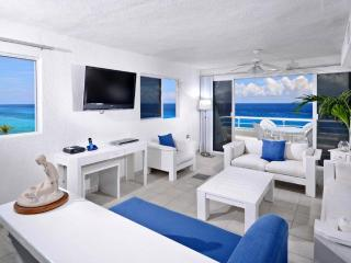 Newly remodeled! The best oceanfront view in the building!  Miramar 401 - Cozumel vacation rentals