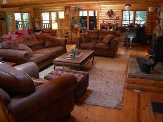 PAPA BEAR'S LODGE.. a log cabin retreat - Nevada City vacation rentals