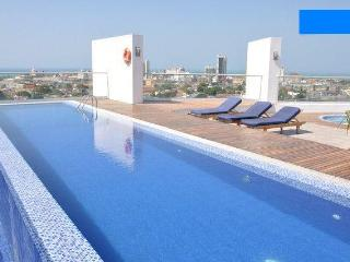 High end studio, complimentary airport pickup - Cartagena vacation rentals