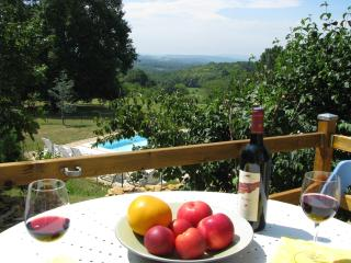 Sarlat, Le Fournil, cottage, pool, views, Dordogne - Plazac vacation rentals
