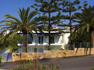 Luxury Family Villa, steps from seaside & village - Galatas vacation rentals