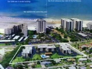 Aerial view of condo - Fort Myers Beach weekly condo rental - Fort Myers Beach - rentals