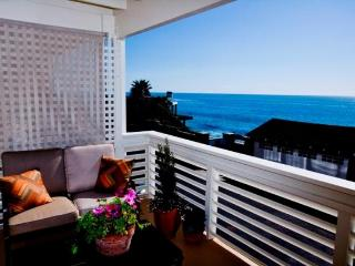 Plan for Sept! - steps from the sand- great views! - Laguna Beach vacation rentals