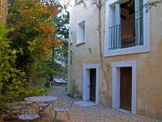 4 Elegant house L'Isle sur Sorgue. Courtyard gdn.