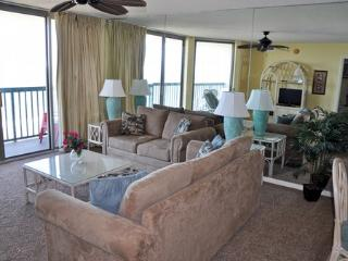 Emerald Cove 3 Bedroom Oceanfront Condo with a Jacuzzi - Cherry Grove Beach vacation rentals