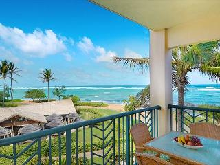 OCEAN Bliss** H302 is ONE of THE BEST BEACH view suits at Waipouli - Kapaa vacation rentals