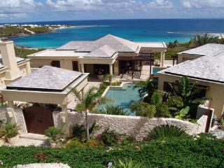 Positioned on a slight hill, overlooking Sandy Hill Bay. MD BOP - Anguilla vacation rentals