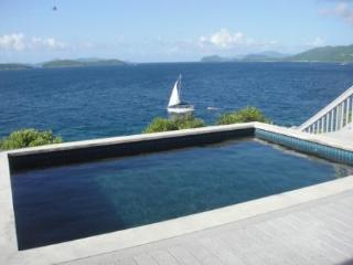 Cabrite Paradise Villa: Oceanfront Elegant Pool - Red Hook vacation rentals