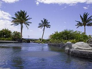 Oceanfront Pool with 3 levels (for kids-adults).  What a view!!! - Hali'I Kai 3BR Townhome-Largest Floor Plan! - Waikoloa - rentals