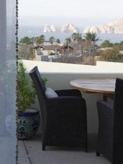 Unobstructed views of El Arco from the living room sofa, BREATHTAKING! - Affordable Oceanview Luxury  Casa del Alba Bonita - Cabo San Lucas - rentals