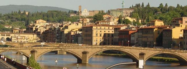 View from the Apartment - Luxury Apartment on the Arno in Central Florence - Florence - rentals