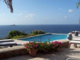 Elegant villa offering amazing view of the ocean and surrounding islands WV BEV - Petit Cul De Sac Beach vacation rentals