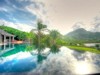 Impressive villa with stunning view of Petit Cul de Sac in St Barts WV SIL - Petites Salines vacation rentals
