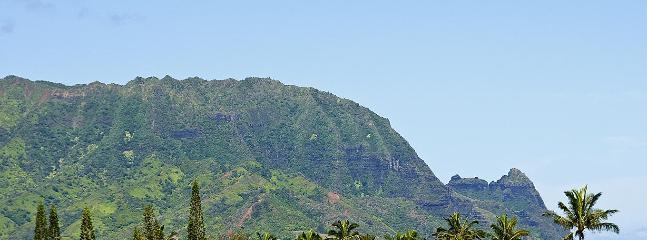 Waterfall, TreeTop, Bali Hai View - Walk to Beach! - Princeville vacation rentals