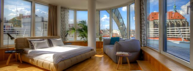 Glass Rooftop Apartment - Glass Rooftop Apartment - Prague - rentals