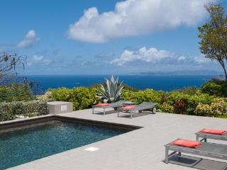 Located high on a hillside with 270º views over the ocean WV VBB - Petit Cul De Sac Beach vacation rentals