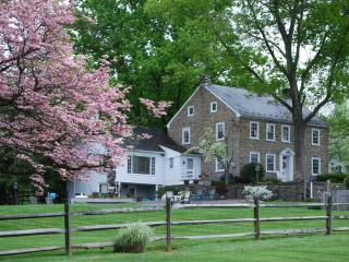 GORGEOUS stone farm home on immaculate horse farm - Lancaster vacation rentals