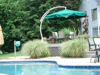 LOVELY Stone Home & POOL on georgous horse farm - Lancaster vacation rentals