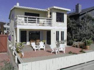 Charming Ocean Front Duplex, South Mission Beach - Pacific Beach vacation rentals