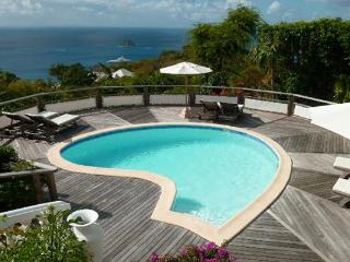 Hidden on the hillside of Colombier offering great views WV TAN - Petit Cul De Sac Beach vacation rentals