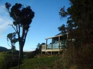Mohua Park Eco cottage exterior  view - Mohua Park Cottages, private Catlins accommodation - New Zealand - rentals