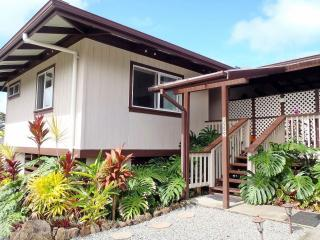 Comfortable 1 bedroom Hilo House with Deck - Hilo vacation rentals