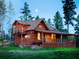 Mountain Crest - Unique, Hand-Hewn Log Cabin Views - Black Hills and Badlands vacation rentals