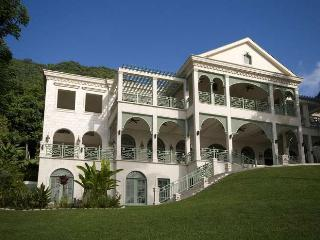 Luxury 11 bedroom Soufriere villa. Below the world famous Pitons! - Soufriere vacation rentals