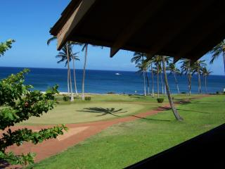 Awesome Ocean View 1 BR Kepuhi Beach Condo (1 of 5 on Ocean Front) Molokai, HI - Maunaloa vacation rentals