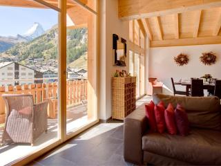 Penthouse Zeus Mountain Exposure Zermatt -  with Matterhorn and Village views - Zermatt vacation rentals