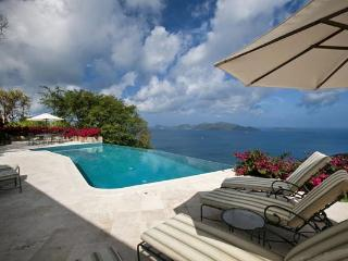 Surrounded by a royal palm oasis. MAT STB - Tortola vacation rentals