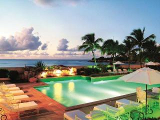 Luxury 9 bedroom Terres Basses (French side) villa. Beachfront at Plum Bay Beach! - Anguilla vacation rentals